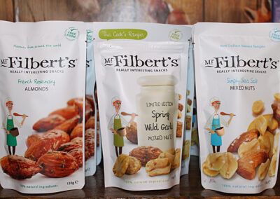 Aunt Fanny's Farm Shop Wimborne - Mr Filbert's snacks