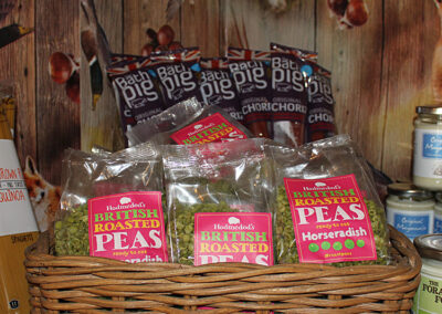 Aunt Fanny's Farm Shop Wimborne - Roasted Peas