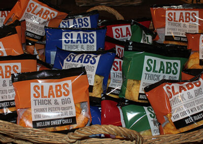 Aunt Fanny's Farm Shop Wimborne - Slabs Crisps