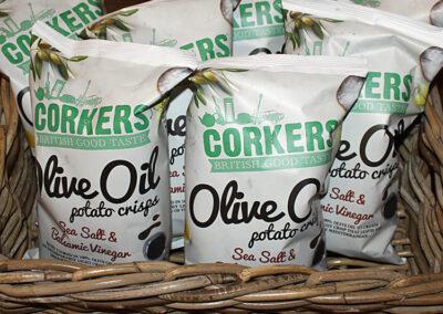 Aunt Fanny's Farm Shop Wimborne - Corkers crisps
