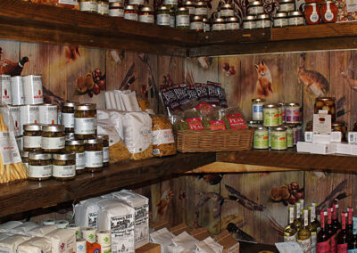 Aunt Fanny's Farm Shop Wimborne stocked shelves